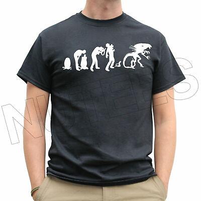 Evoluzione Alieno Xenomorph Cool Divertente Uomo Donna Bambino T-shirt Canotta S-xxl-mostra Il Titolo Originale Firm In Structure