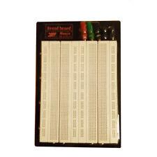 Breadboard Experimentierboard Steckboard 1260 / 400 Kontakte Steckplatine 1660