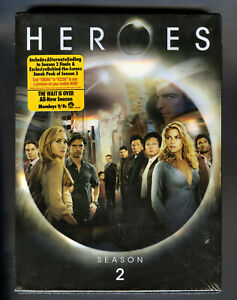 HEROES-The-Complete-Second-Season-DVD-NEW-Factory-Sealed-4-Disc-Set