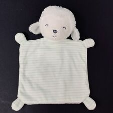 CARTER/'S PRECIOUS FIRSTS LAMB LOVEY JUST ONE YOU Stripes NEW NWT