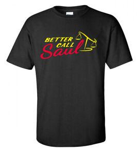 Call Saul T Shirt Mens Tshirt Gray T-Shirt Better Breaking Bad Large Cotton XXL