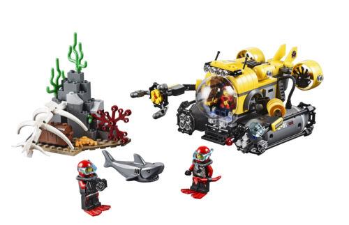LEGO®City 66522 DeepSeaExplorers SuperPack 4-in-1NEU OVP 60090+60091+60092+60093