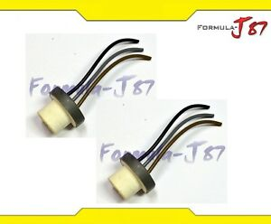details about wire pigtail female ceramic 9007 hb5 two harness headlight  bulb wiring connector