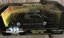 RARE Hobby NOS ERTL 1966 Chevy NOVA SS  '66 327 350 HP Super Sport BLACK Beauty