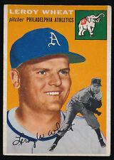 1954 Topps #244 Leroy WheatRC - Philadelphia Athletics - VGEX - (C01)
