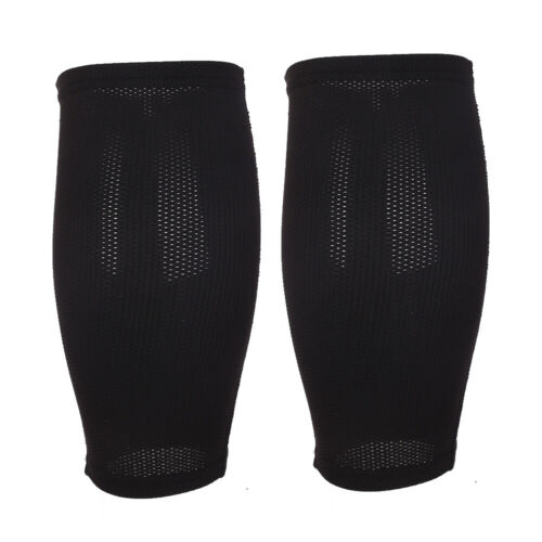 FA4A Fabric Soccer Shin Pad Leg Protector Fixed Sleeve Goalkeeper Holder
