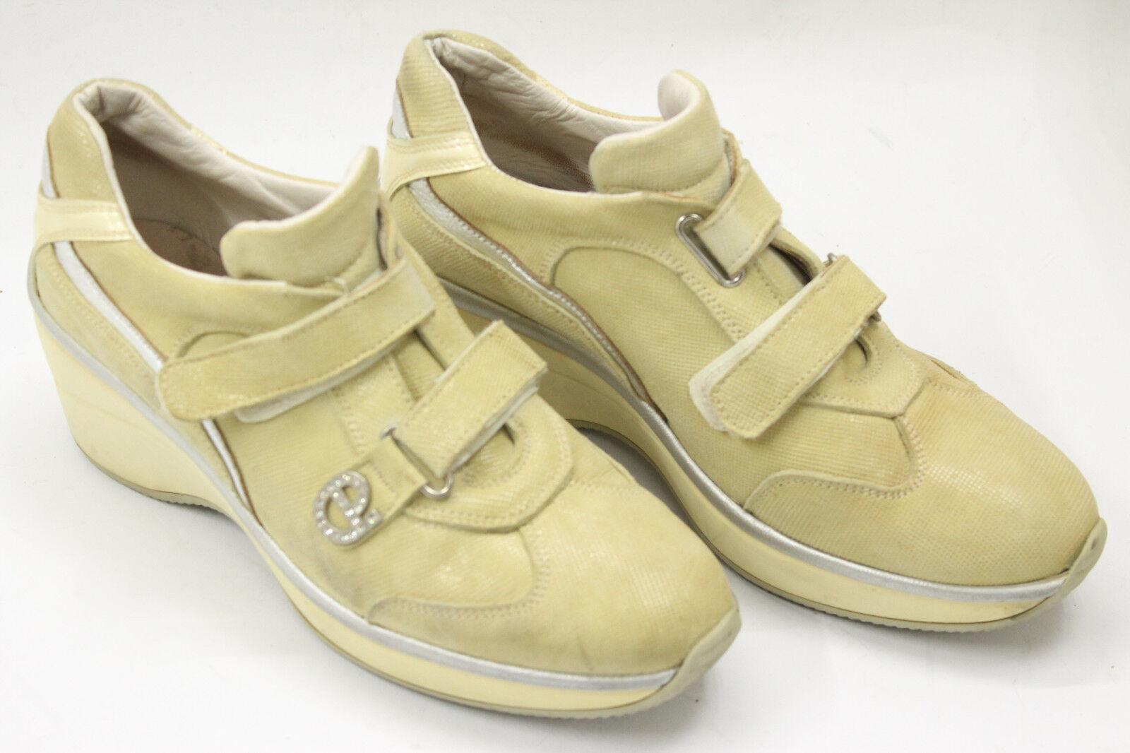 CESARE PACIOTTI Femme  chaussures  sz 7.5 Europe 38 beige  leather S7016