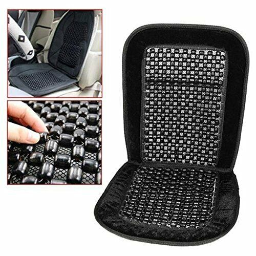 2x All Cars Beaded Car Van Lorry Seat Cushion Comfy Massage Wooden ...