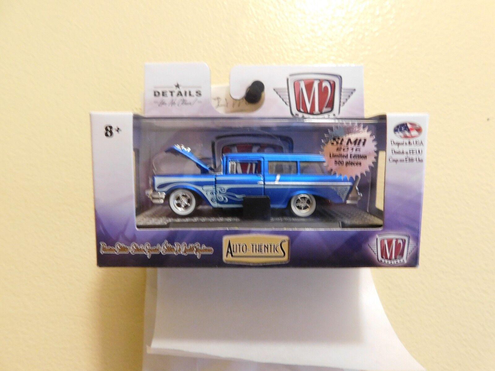 L39 M2 máquinas autothentics 1957 Chevrolet 150 Handyman Station Wagon Sema 500