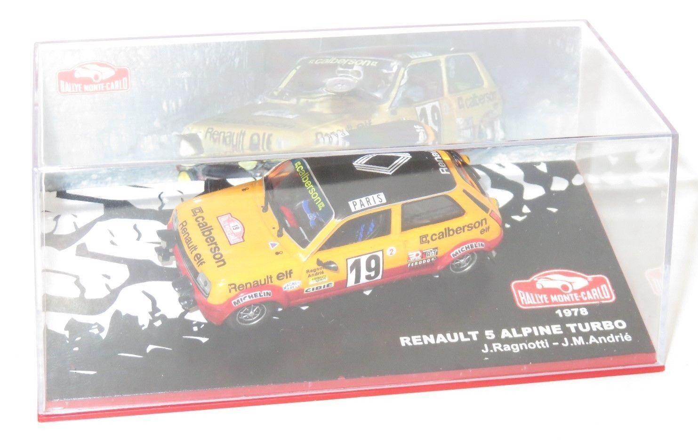 1 43 Renault 5 Alpine Turbo  Calberson Rallye Monte Carlo 1979  J.Ragnotti