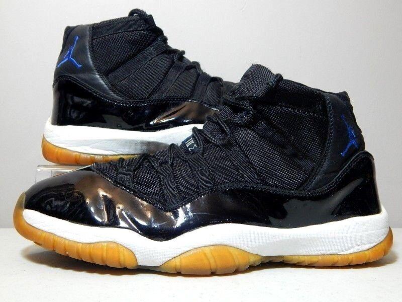 Nike Shoes - 2018 OG Jordan 11 XI Space Jam - Blue Black White - Comfortable Comfortable and good-looking