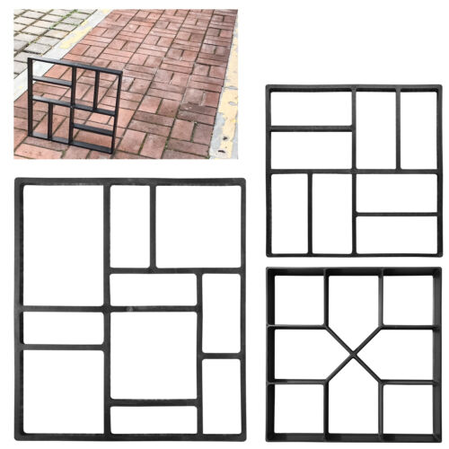 Path Maker REUSABLE  3 Style Molds Widely used Making Paving Concrete Mould