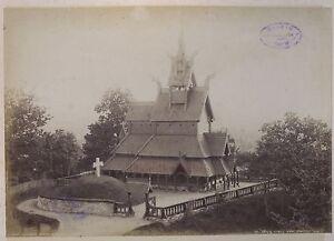 Norvegia Norway Fortun Kirke Bergen Vintage Ca 1880