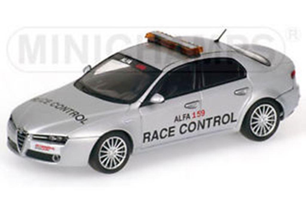 MINICHAMPS 400 120590 ALFA 159 Race Control Control Control Voiture Diecast Model 2006 ltd ed 1:43rd 9c6d0c