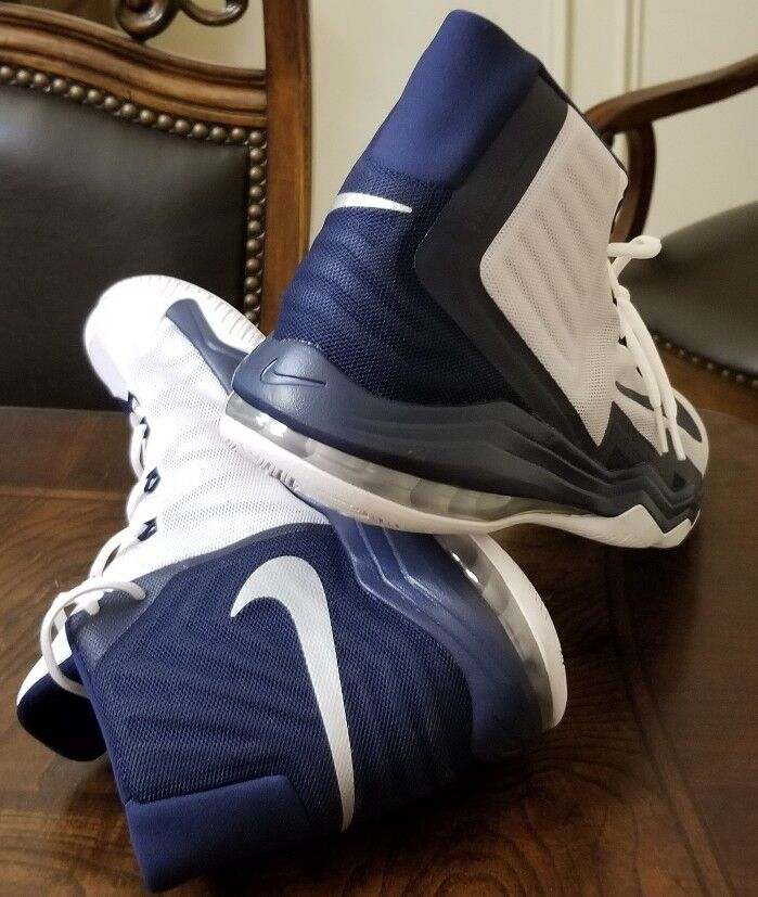NIKE AIR MAX AUDACITY 2016 863115-141 Blue and White SIZE 16.5 New without Box