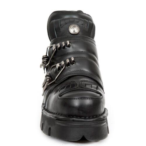 Newrock Boots Rock 211 New Unisex S1 Black M Nr rvYg0xr