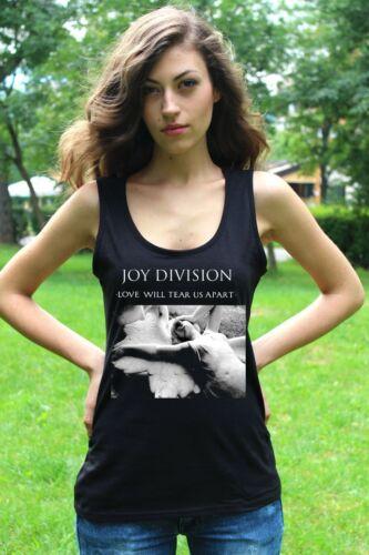 Joy Division Love Will Tear Us Apart damen tank top lady T-shirt Shirt tee