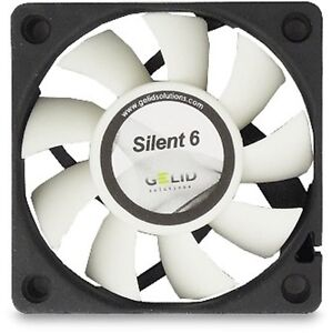 Details about Gelid Solutions Silent 6CM 60mm Fan Cooler Case PC Computer  Cooling 3 Pin Quiet