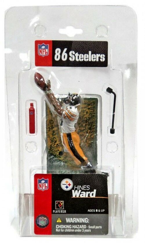 NFL Pittsburgh Steelers Sports Picks 3 pollici MINI HINES Ward Mini cifra