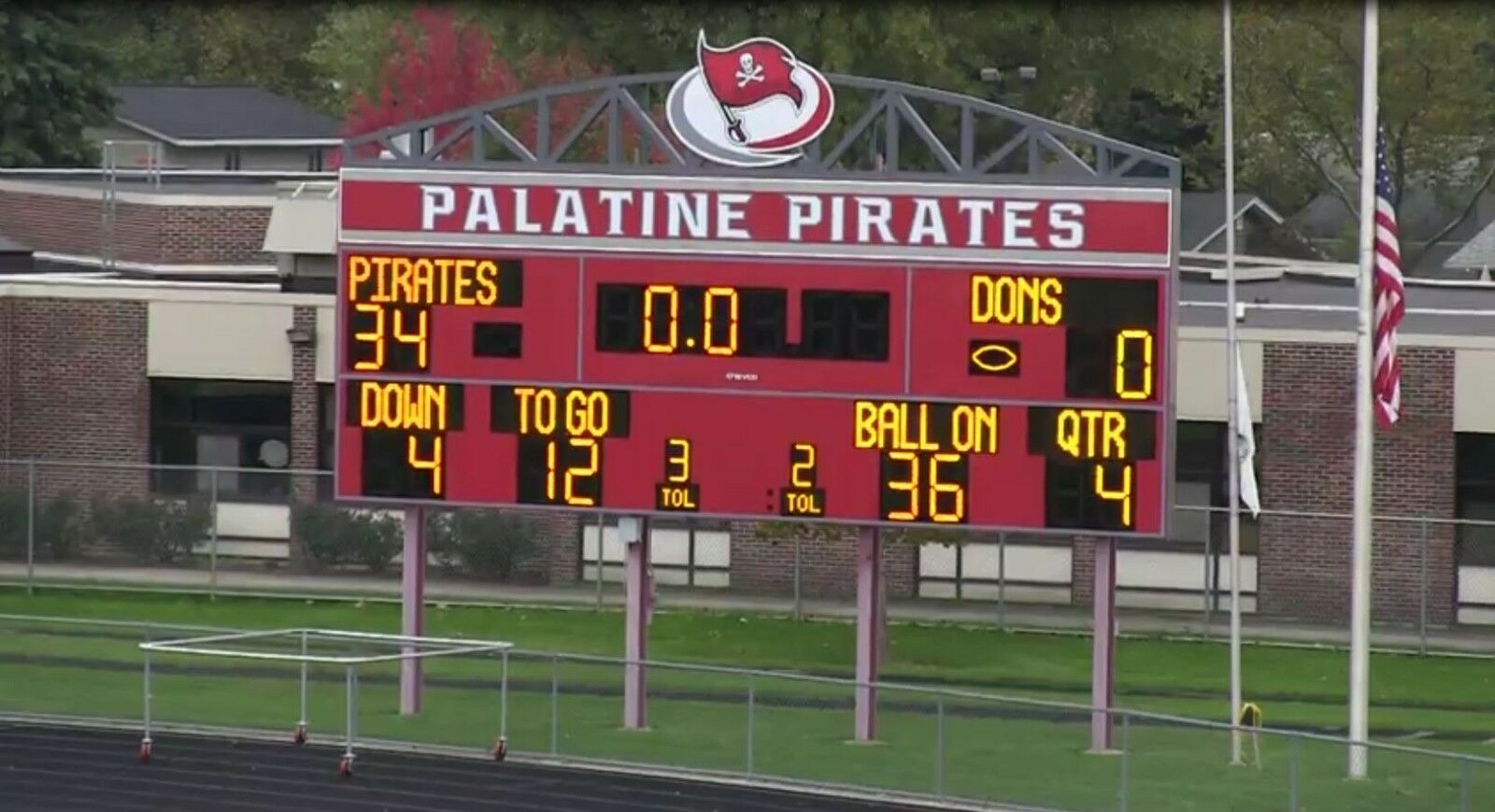 PALATINE PIRATES High school football game videos 2014 2015 2016 Email Delivery