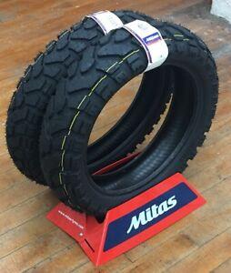 Mitas E 07 Plus Dakar Pair Motorcycle Tires 170 60 17 120 70 19 Bmw Gs Ktm Tiger Ebay