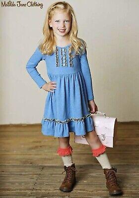 Girls toddlers Matilda Jane Friends Forever Clover dress size 4 EUC