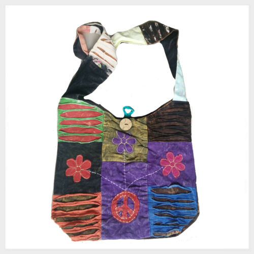Nepal Paz De Colorido Usado fPwz5Prq Patchwork Vintage Bolso Hippie Bandolera Goa Aspecto A5jLc34Rq