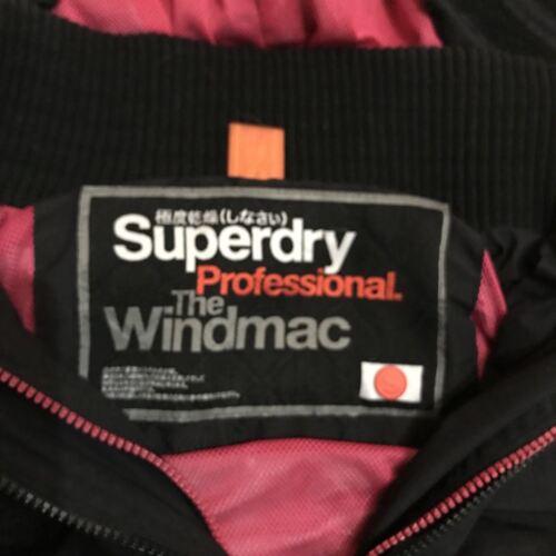rosa Windmac da taglia Professional piccola donna Superdry Giacca nera wAfTBB