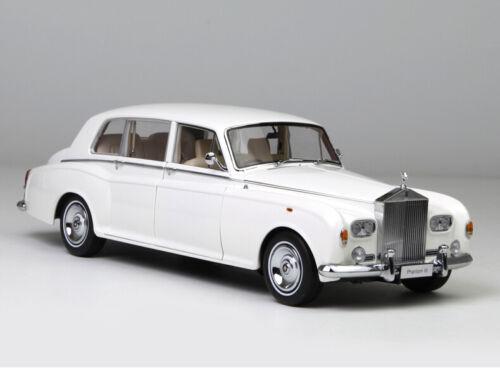 Kyosho 1//18 Rolls-Royce Phantom VI Luxury Classic Car Die-Cast Model White