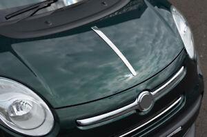 Acento-cromado-Bonnet-Hood-trim-tira-para-caber-Fiat-500-L-2012