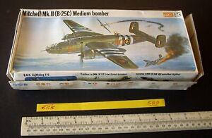 Vintage Frog 1/72 Kit NA Mitchell Mk.II (B-25C) Medium Bomber RAF Livery  (559)