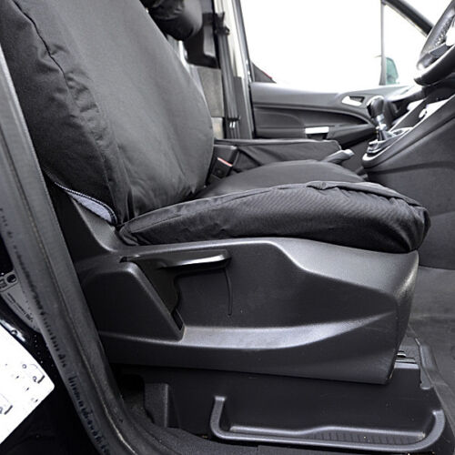 Ford Transit Conectar 2018 en Tailored Fundas Heavy Duty van Negro 007