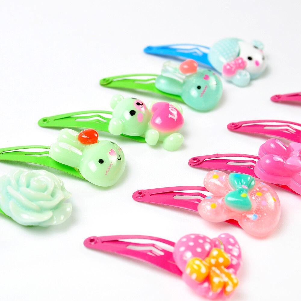 20pcs//set Girls Hairpin Mixed Assorted Baby Kid Children-Cartoon Hair-PIN