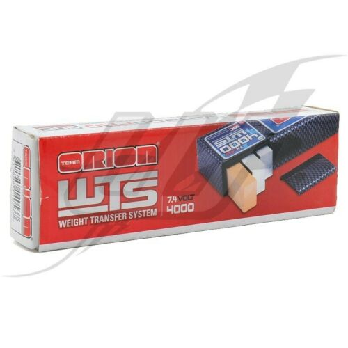 Batteria Orion LiPo Carbon Pro WTS 2S Saddle Pack 90C 7.4v/4000mah - ORI14053