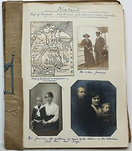 Finland-1911-29-superb-collection-of-postal-history-and-family-correspondence