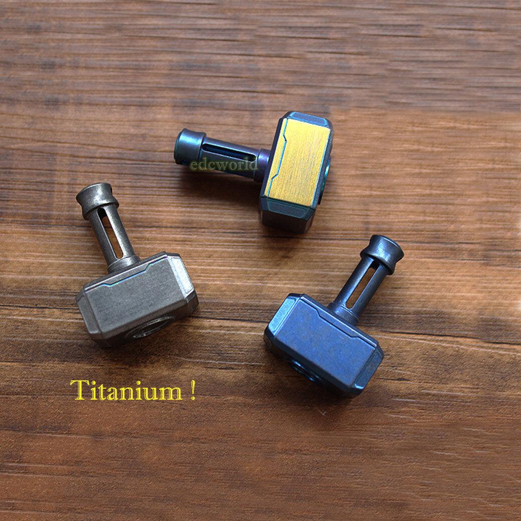 Outdoor EDC Titanium TC4 Key Chain Tool Key Knife Pendant Lanyard Bead K-CZ9