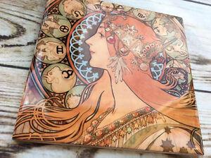 Beautiful-Alphonse-Mucha-Zodiac-Ceramic-Tile-Coaster-poster-art-nouveau-gift-art
