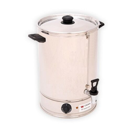 BRAND NEW Heavy Duty Crown Hot Water Urn 10L Concealed Element Made In Australia