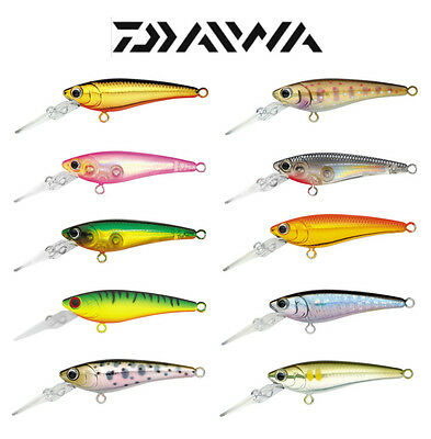 "DAIWA SC SHINER SUSPENDING JERKBAIT 1 1/2"" select colors"