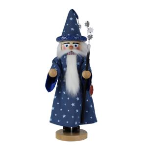 Made in Germany Steinbach Blue Wizard Nutcracker NEW IN BOX