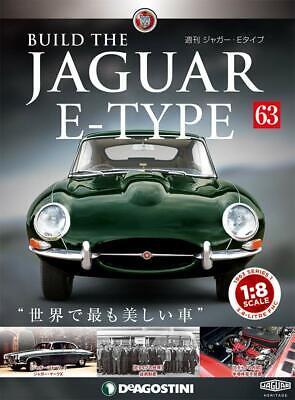 DeAGOSTINI Weekly Build THE JAGUAR E-TYPE 1//8 die cast model Vol.80 from Japan