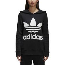 Felpa Donna Adidas Originals Trefoil Hoodie Nera Codice CE2408 - 9W