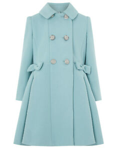 Girls-Monsoon-Harper-Blue-Victorian-Fit-Flare-Party-Princess-Coat-3-to-13-Years