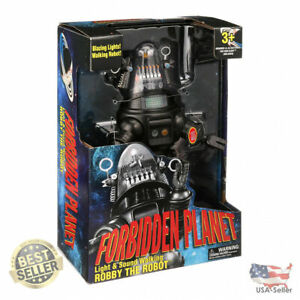 """Forbidden Planet Robby The Robot Light & Sound Walking Toy, 15"""""""