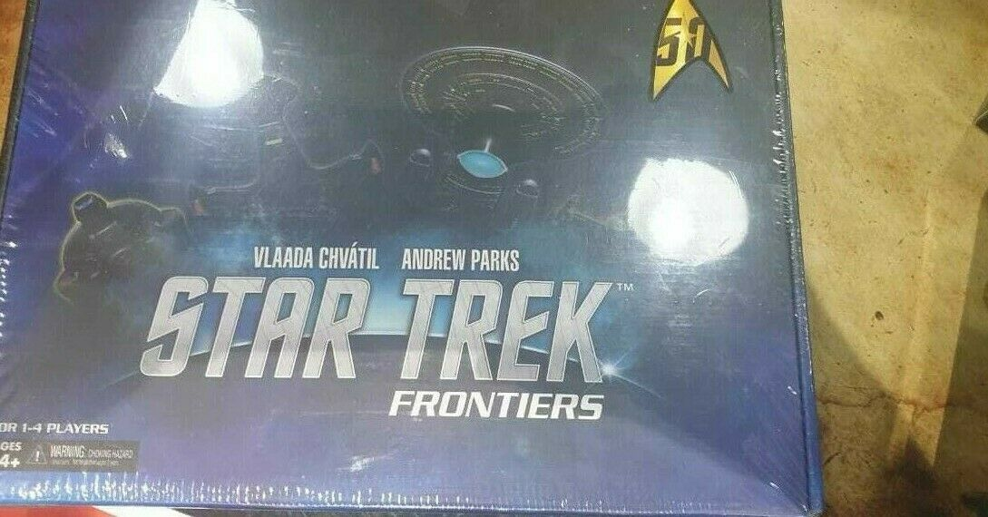 Estrella Trek  davantiiers tavola gioco Bre nuovo inglese  Sealed  best-seller