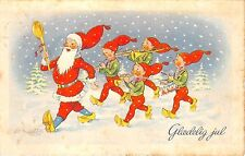 BG8483 gladeling jul dwarf  glaedeling jul christmas greetings denmark