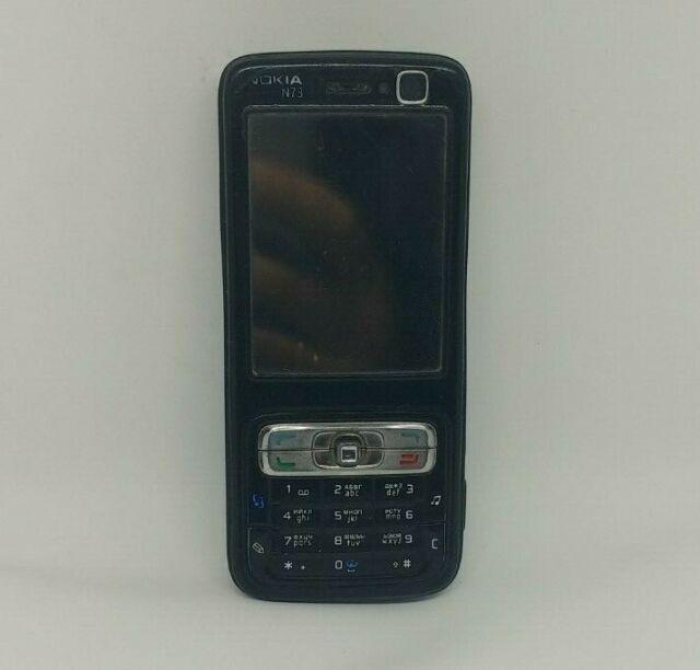 Nokia N Series N73 - Black (Unlocked) Smartphone