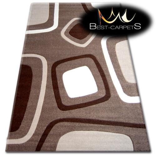 Alfombras Moderno Geométrico-Pilly Mocha Cacao 120 X 170 cm-Big venta 70/%