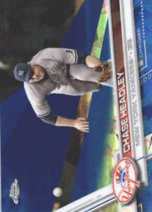 CHASE-HEADLEY-2017-TOPPS-CHROME-SAPPHIRE-EDITION-621-ONLY-250-MADE