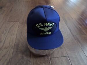 U.S NAVY HAT NAVAL AVIATION MARINE CORPS BALL CAP NAVY PILOT U.S.A ... 31b5e9884b8